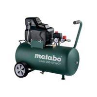 METABO: BASIC 280 - SPRĘŻARKA TŁOKOWA ZE ZBIORNIKIEM